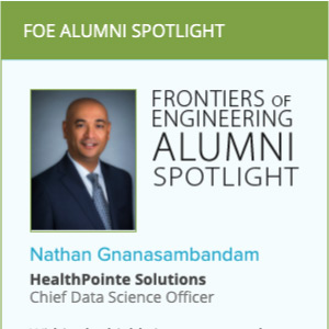 CTO Nathan Gnanasambandam featured by the National Academy of Engineers